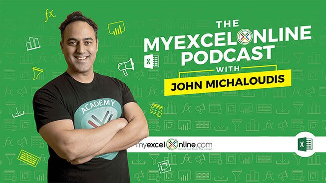 Hours & Hours of Excel Podcasts!