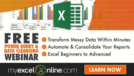 Free Excel Webinar Training Power Query