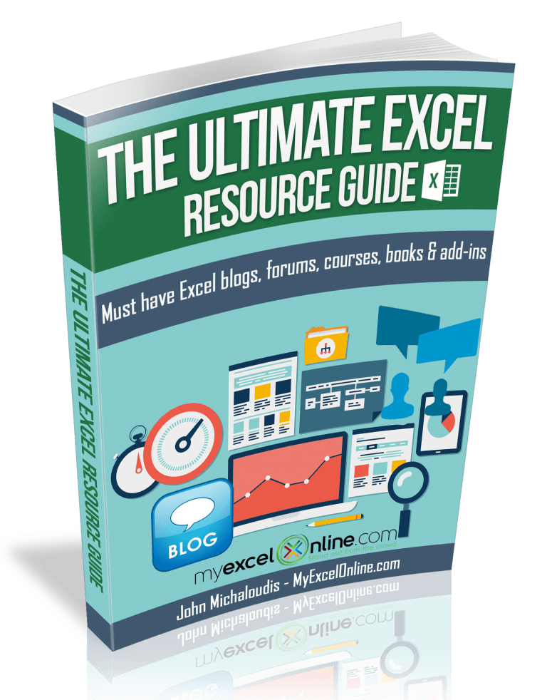 The Ultimate Excel Resource Guide - Reward | MyExcelOnline