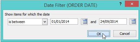 Filter a Pivot Table by Dates | MyExcelOnline