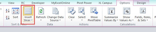 Pivot Charts