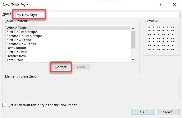 Excel Table: Styles | MyExcelOnline