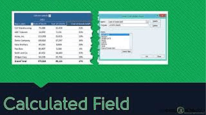 Pivot Table Calculated Field