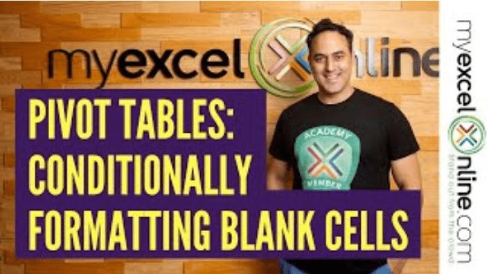Pivot Table Conditional Formatting