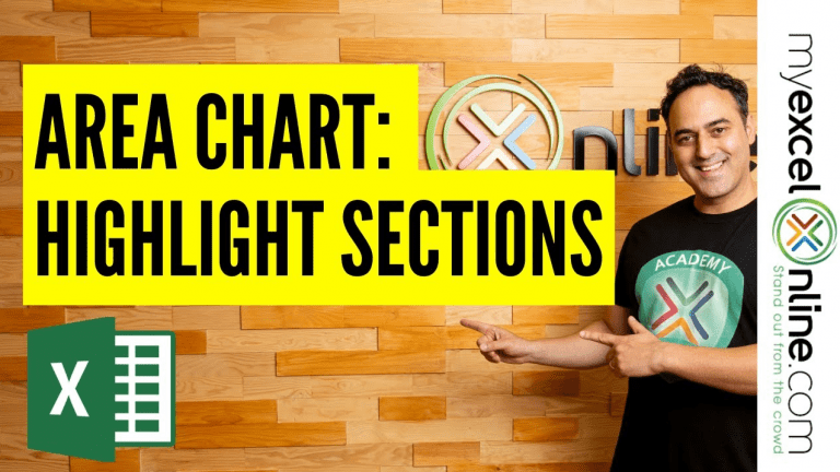 Area Chart: Highlight Chart Sections