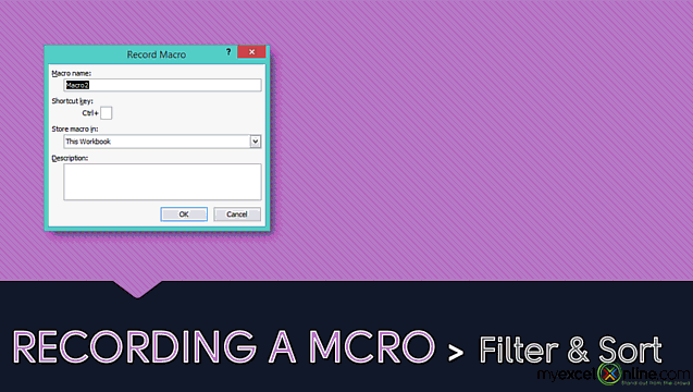Macro Recorder: Recording Your First Excel Macro