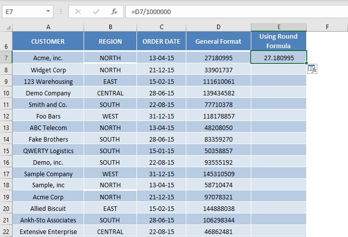 Excel Custom Number Format Millions and Thousands   MyExcelOnline