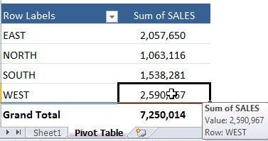 Drill Down To Audit Using a Pivot Table | MyExcelOnline