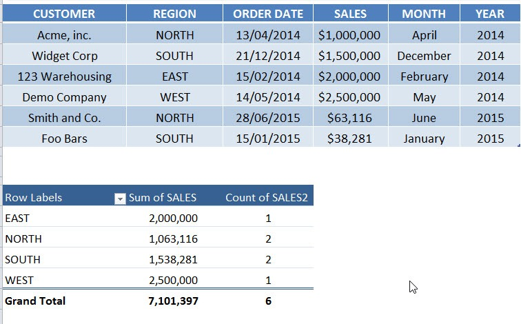 Show Report Filter Pages in a Pivot Table   MyExcelOnline