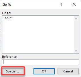 Find Errors with Go to Special Constants | MyExcelOnline
