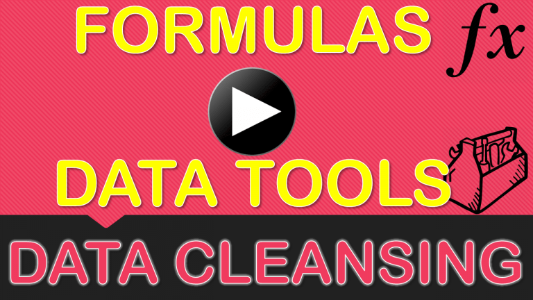 Data Cleansing Training - Clean & Extract Data Using Formulas & Excel's Analytical Tools | MyExcelOnline