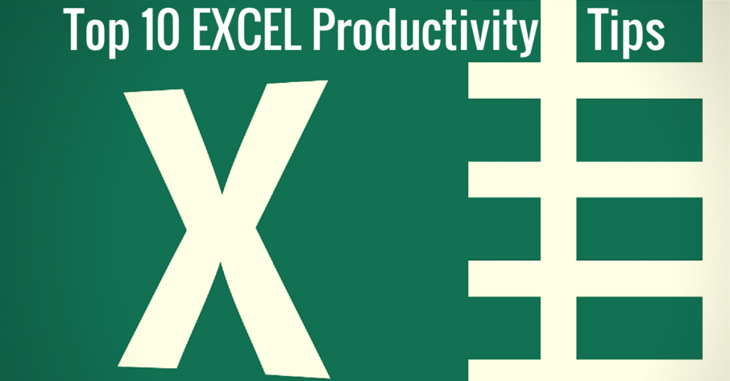 Top10ExcelProductivityTips