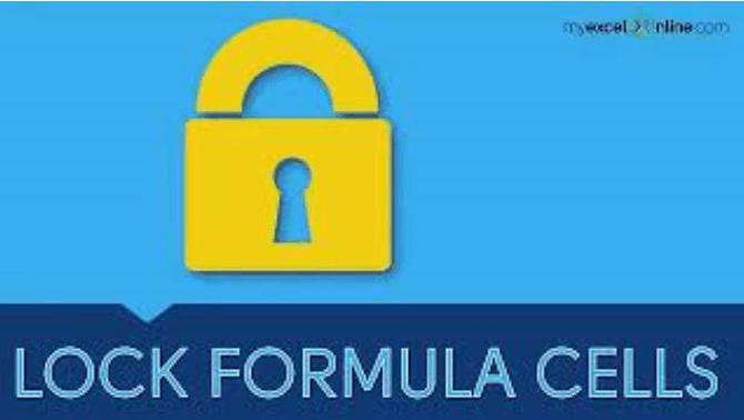 Lock & Protect Formula Cells