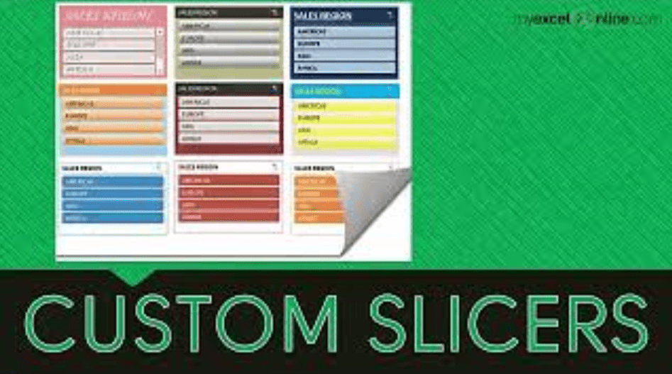 Customize an Excel Slicer