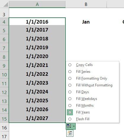 Excel's Fill Handle Tips | MyExcelOnline