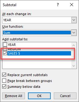 Excel's Subtotal Feature | MyExcelOnline