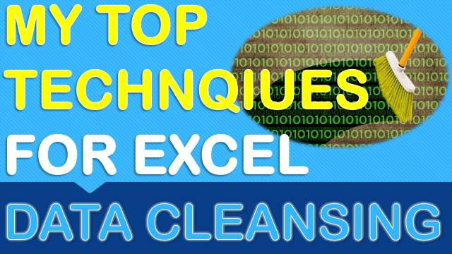 Top Excel Data cleansing Techniques
