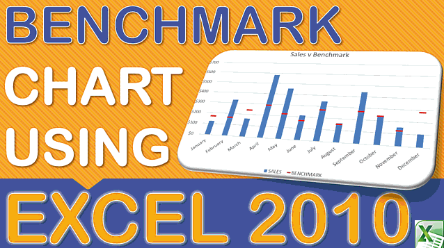 Benchmark Chart in Excel 2010