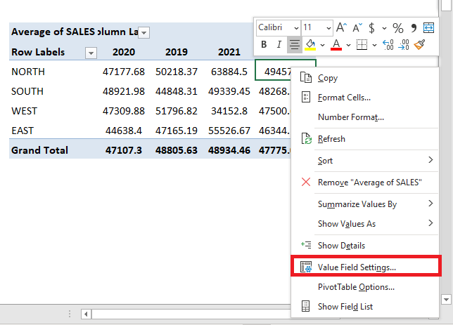 Show Averages With an Excel Pivot Table | MyExcelOnline