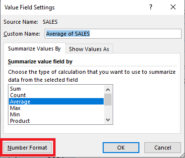Show Averages With an Excel Pivot Table   MyExcelOnline