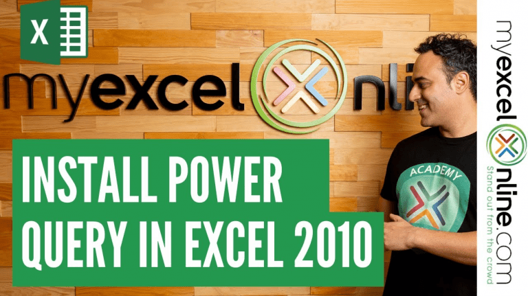 How To Install Power Query in Excel 2010