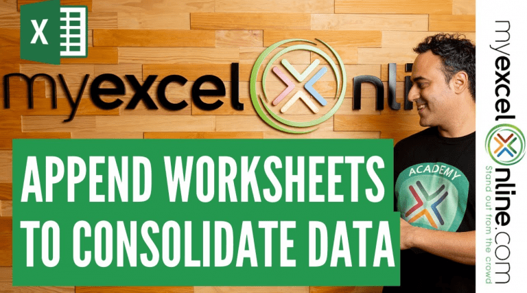 Consolidate Multiple Excel Sheets Using Power Query Append