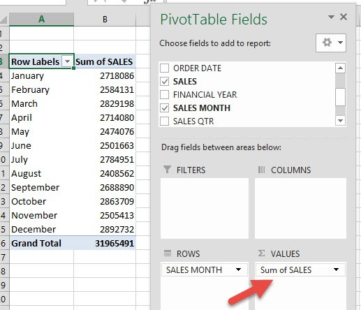 Count VS Sum in Pivot Tables | Free Microsoft Excel Tutorials