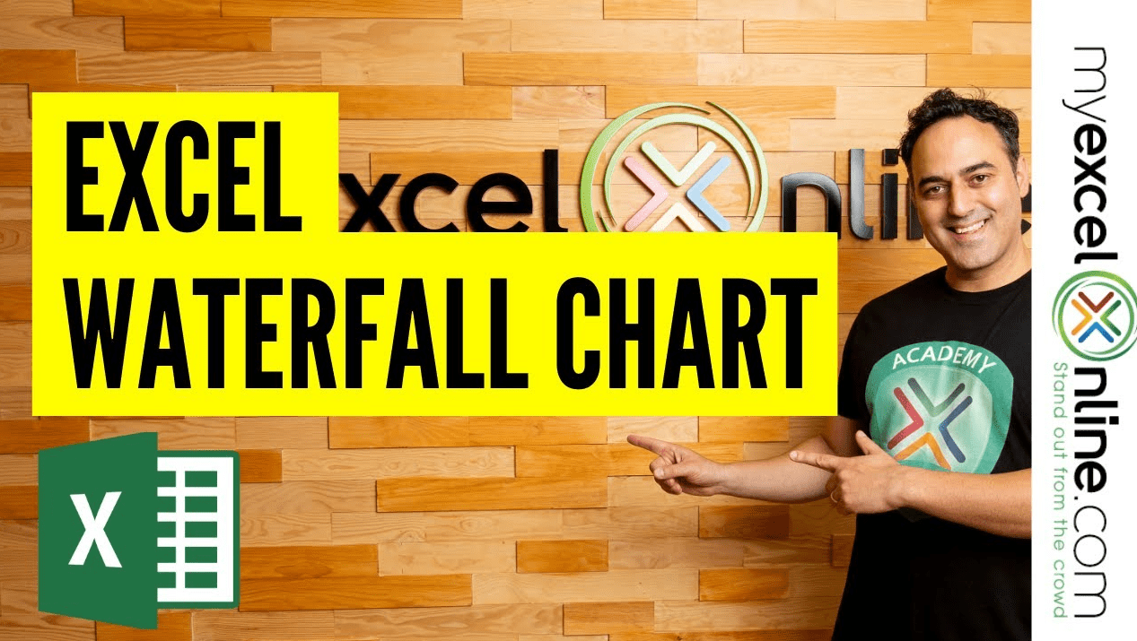 Create a Waterfall Chart With Excel 2016