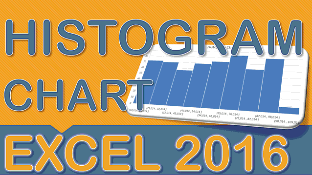 Create a Histogram Chart With Excel 2016