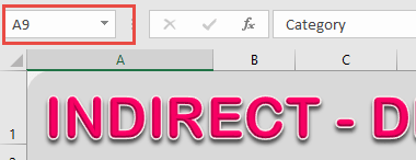 Indirect - Dependent Dropdown List 02