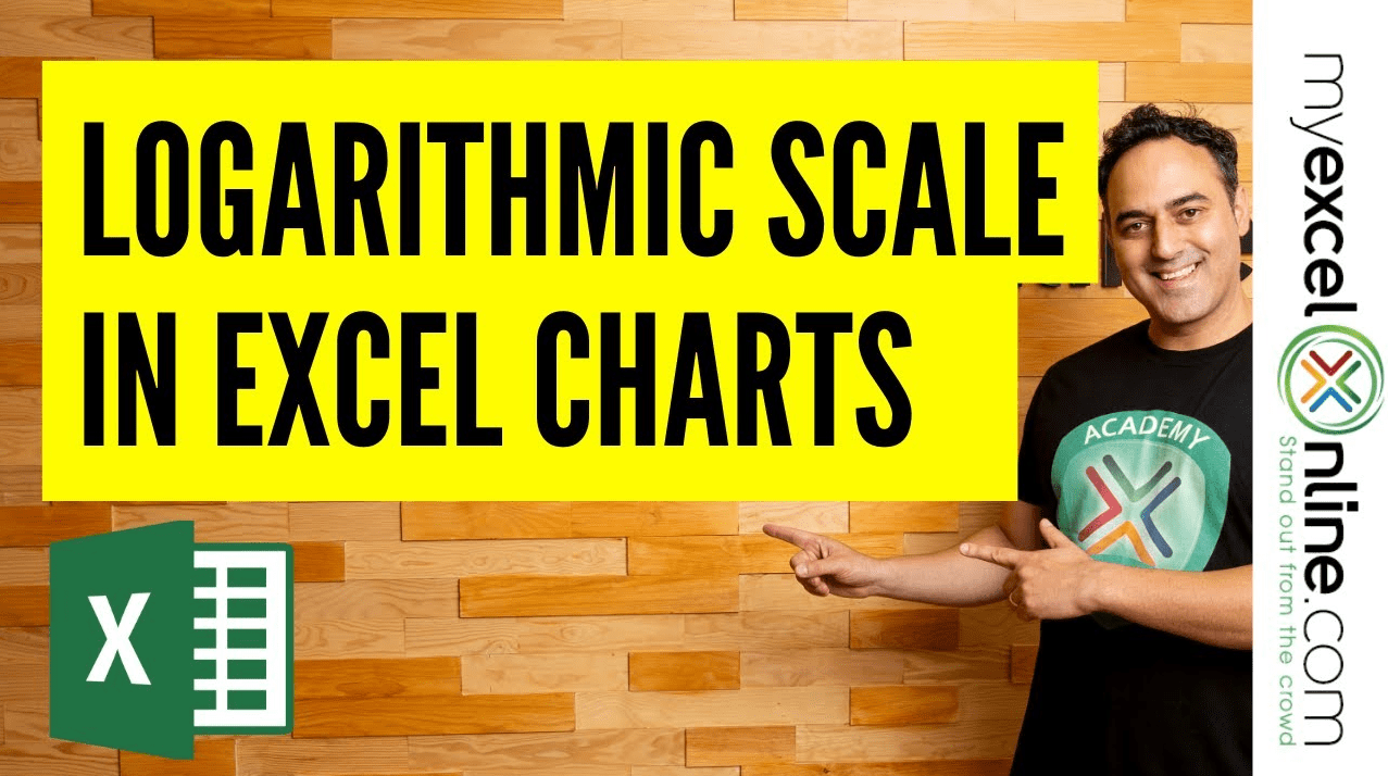 Logarithmic Scale In An Excel Chart