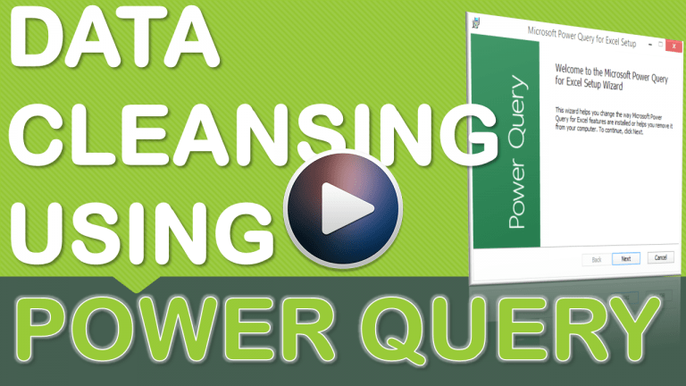 Data Cleansing Training - Different Ways to Format Data Using Power Query | MyExcelOnline