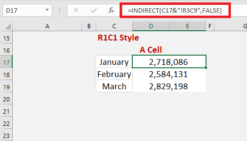 Excel INDIRECT Function Using Sheet References   MyExcelOnline