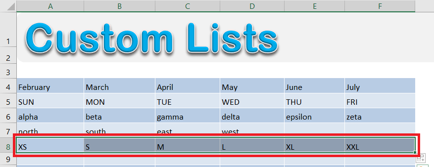 3 Quick Ways on How To Create A List In Excel | MyExcelOnline