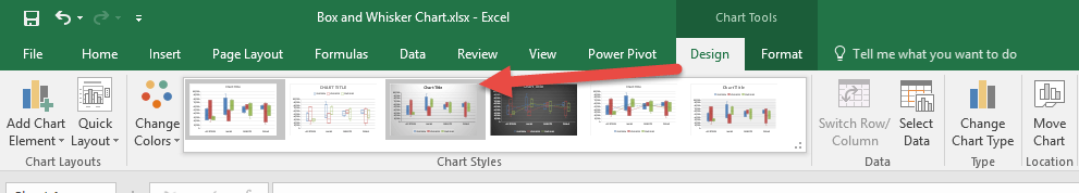 Create a Box and Whisker Chart With Excel 2016