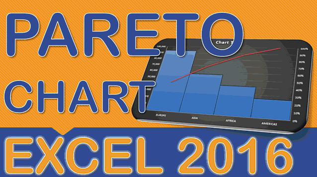 Create a Pareto Chart With Excel 2016