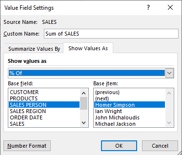 Show The Percent Of With Excel Pivot Tables | MyExcelOnline