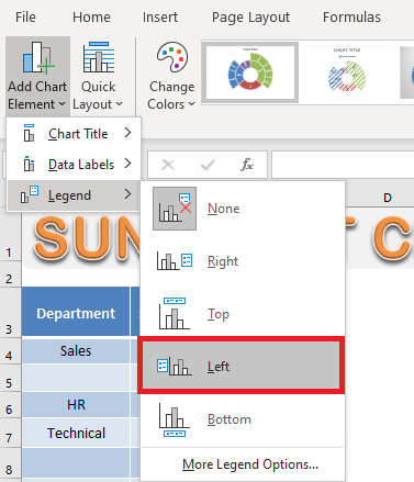 Create an Excel Sunburst Chart With Excel 2016   MyExcelOnline