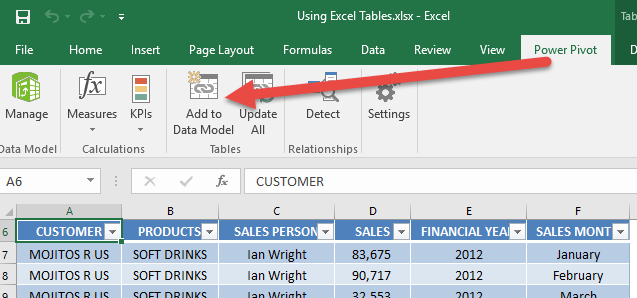 Using Excel Tables 03