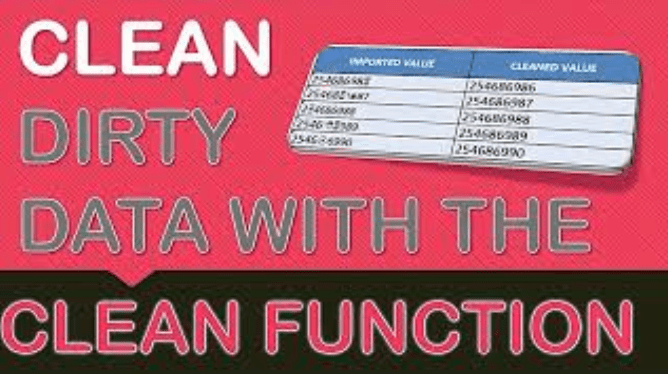 Cleaning Data with Excel's CLEAN Formula