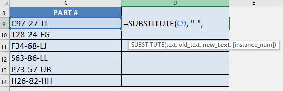 Substitute 03