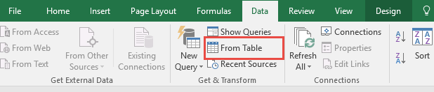 Filter Records Using Power Query or Get & Transform