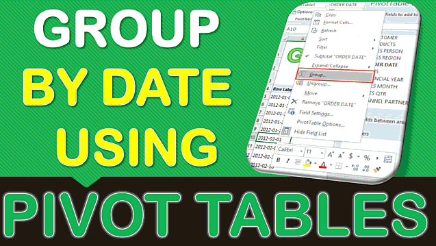 Group Sales by Weeks With Excel Pivot Tables