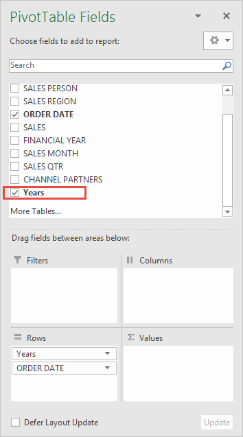 Group By Quarters and Years With Excel Pivot Tables | Free
