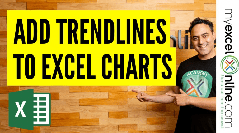 Add Trendlines to Excel Charts