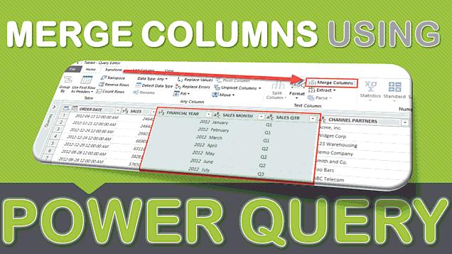 Merge Columns Using Power Query