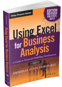012: Financial Modelling with Danielle Stein Fairhurst from PlumSolutions | MyExcelOnline