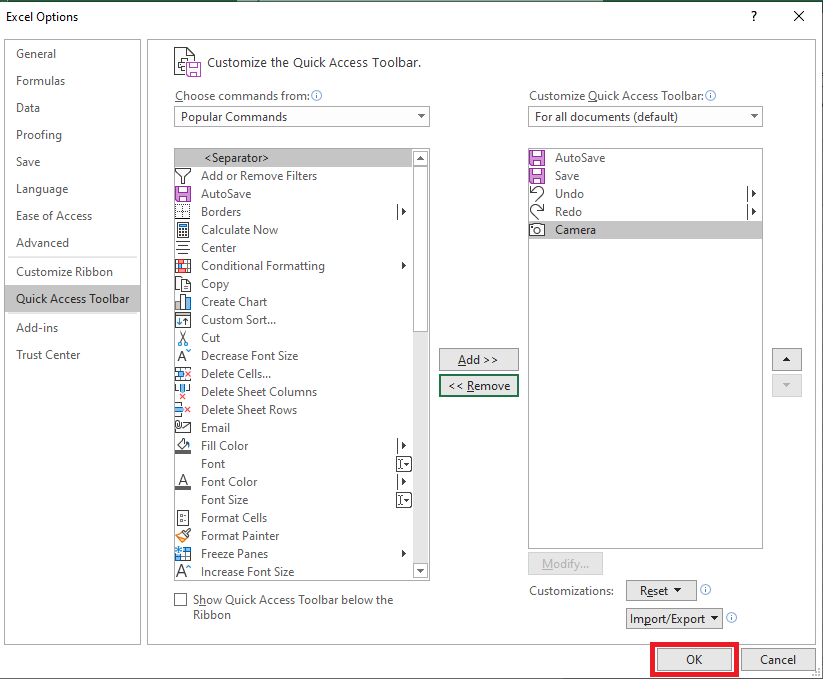 Add Calculator in Excel to the Toolbar | MyExcelOnline