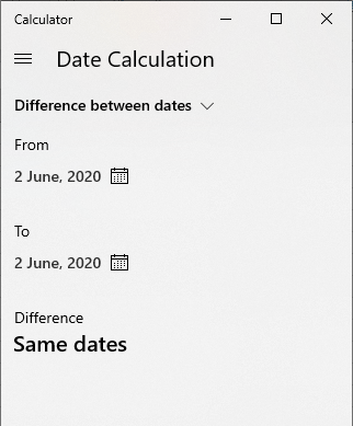date calculation in excel