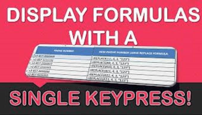 Top 3 Excel Keyboard Tips